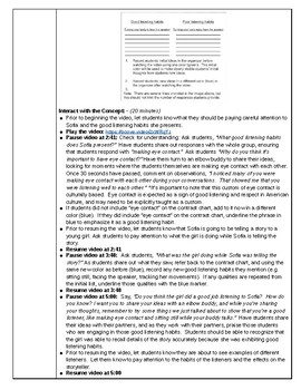 Look and Listen Q Wunder Lesson Plan