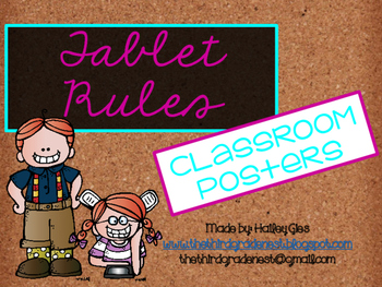 Tablet Rules: Corkboard and Brights