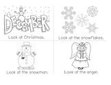 Look at Christmas mini book