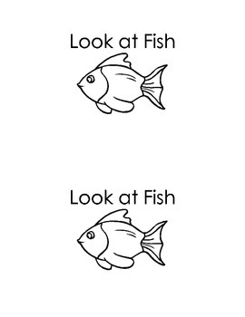 Look at Fish; an Emergent Reader to complement the FOSS un