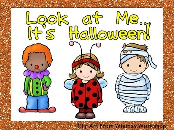 Look at Me... It's Halloween Shared Reading for Kindergarten