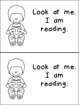 Look at Me- Nonfiction Leveled Reader- Level B Kindergarten