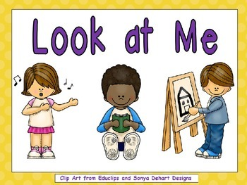 Look at Me- Nonfiction Shared Reading- Level B Kindergarten
