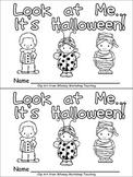 Halloween Emergent Reader for Kindergarten: Look at Me...It's Halloween