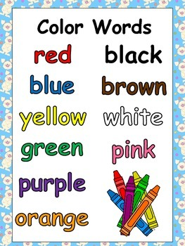 Look at My Jelly Beans Emergent Reader- Kindergarten- Easter and Color Words