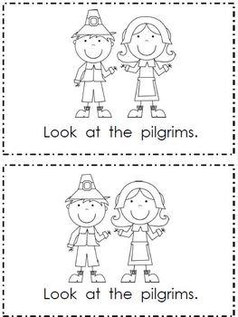 Look at Thanksgiving- Emergent Reader & Word Work