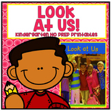 Look at Us Kindergarten NO PREP Supplemental Reading Printables