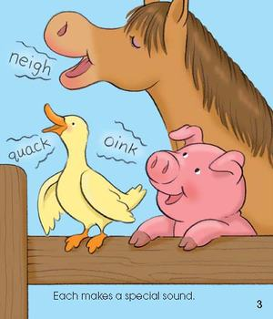 Look at the Animals eBook & Read-Along Audio
