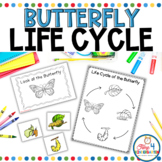 Butterfly  Life Cycle Emergent Reader and Activities