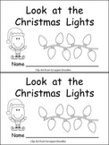 Look at the Christmas Lights Kindergarten Emergent Reader book
