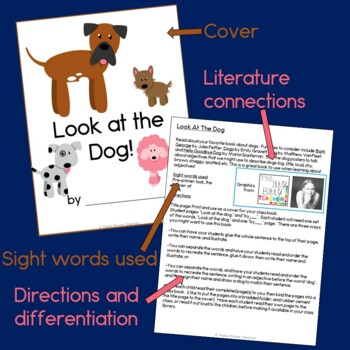 Look at the Dog Class Book with Sight Words