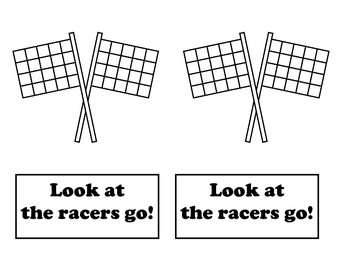 Look at the Racer Emergent Reader