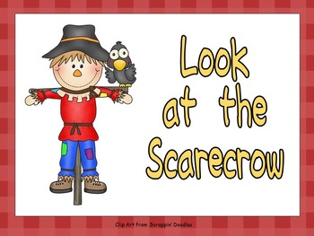 Look at the Scarecrow Shared Reading for Kindergarten- Fal