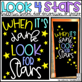 Look for Stars Positive Mindset Bulletin Board, Door Decor