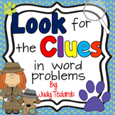 Look for the Clues in Word Problems