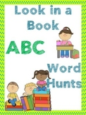 ABC Activity / ABC word work