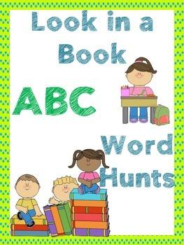 ABC Activity / ABC word work