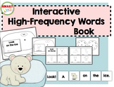 Look on the Ice {Interactive High-Frequency Words Book}