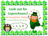 Look out for Leprechauns! Articulation Game for L, K, S, R