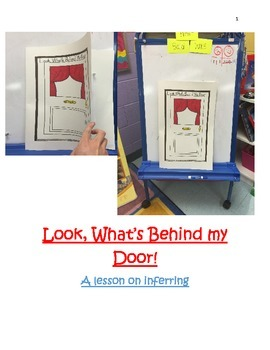 Look, what's behind my door! A lesson on inferring!
