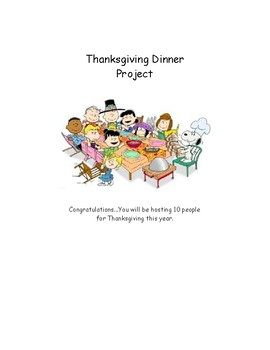 Look who's coming to dinner...Thanksgiving day project