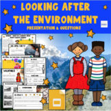 Looking After The Environment -  No Prep Lesson GOOGLE DOCS