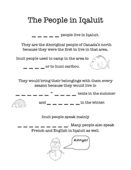 Looking At People - Inuit, Acadian and Ukrainian