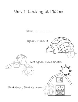 Looking At Places - Meteghan, Iqaluit, Saskatoon