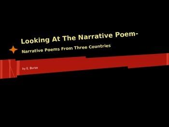 Looking At The Narrative Poem