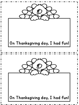 My Thanksgiving A FREEBIE!