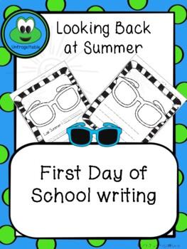 Looking Back at Summer Writing