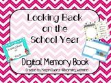 Looking Back on the School Year Digital Memory Book