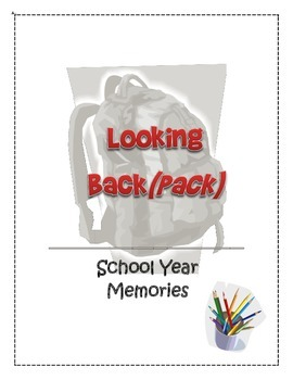 Looking Back(pack) - An end of year memory packet