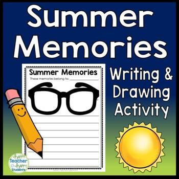 Summer Writing - Summer Memories