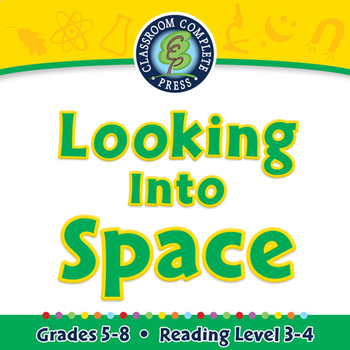 Looking Into Space - NOTEBOOK Gr. 5-8