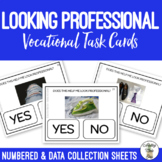 Looking Professional Vocation Task Cards
