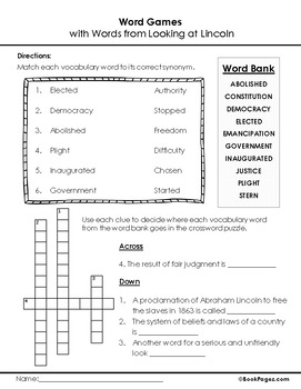 Looking at Lincoln Lesson Plans & Activities Package, Fifth Grade (CCSS)