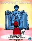 """Looking at Lincoln """"Presidential Poetry"""" -An Acrostic Poem"""
