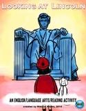 Looking at Lincoln English/Language Arts/Reading Activities