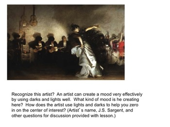 Art Lesson: A PowerPoint to Understand Value