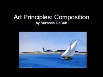 Art Lesson: Looking at Paintings: PowerPoint to Understand Composition