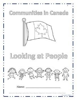 Looking at People in Canada Iqaluit-Inuit,Meteghan-Acadian,Saskatoon-Ukrainian