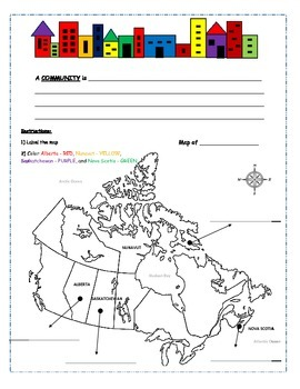 Looking at Places: Communities in Canada (Inuit, Acadian, and Prairie Community)