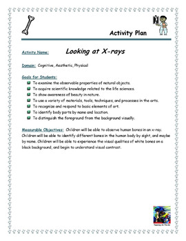 Looking at X-Rays Activity Plan