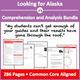 Looking for Alaska – Comprehension and Analysis Bundle