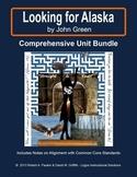 LOOKING FOR ALASKA by JOHN GREEN: Comprehensive Unit Bundle