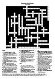 Looking for Alaska - Crossword Puzzle