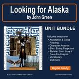 Looking for Alaska by John Green: Unit Bundle