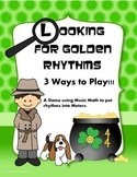 St. Patrick's Day Rhythm Game: Looking for Golden Rhythms