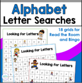 Looking for Letters ~  Alphabet Read the Room